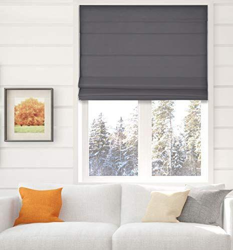 """<p><strong>Arlo Blinds</strong></p><p>amazon.com</p><p><strong>$40.00</strong></p><p><a href=""""https://www.amazon.com/dp/B0813Z3894?tag=syn-yahoo-20&ascsubtag=%5Bartid%7C10060.g.36422828%5Bsrc%7Cyahoo-us"""" rel=""""nofollow noopener"""" target=""""_blank"""" data-ylk=""""slk:Shop Now"""" class=""""link rapid-noclick-resp"""">Shop Now</a></p><p>These thermal blackout shades come in a wide range of sizes that will fit almost any window. The color selection is more limited: dark and light gray, white and black. These attractive, elegant Roman shades are made of thick polyester fabric. They block light, and are operated with a cordless lift mechanism. Items necessary for installation are included. Customers called them a """"great value.""""</p>"""