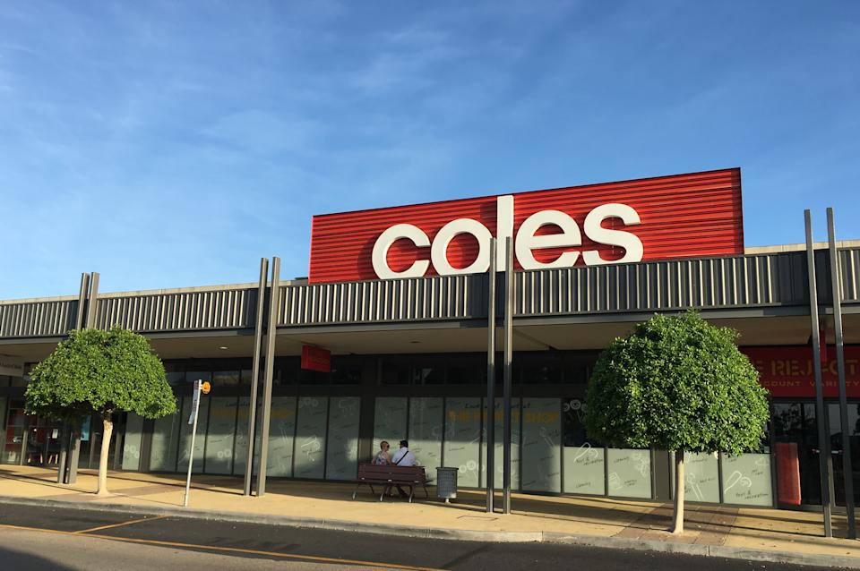 Coles facade. Source: Getty Images