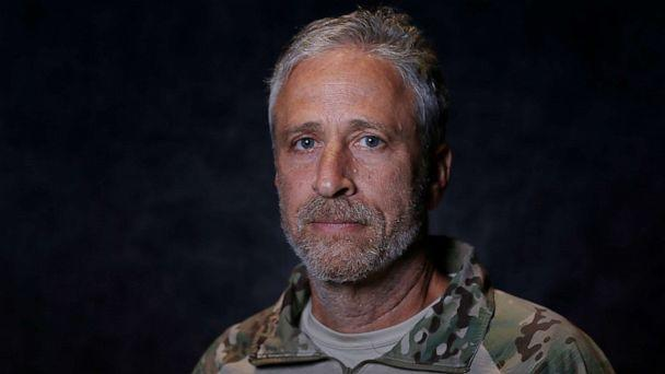 PHOTO: Jon Stewart poses for a portrait prior to the opening ceremony of the 2019 Warrior Games at Amalie Arena on June 22, 2019 in Tampa, Florida. (Michael Reaves/Getty Images)
