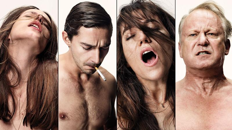 Martin, LaBeouf, Gainsbrough and Skarsgard in 'Nymphomaniac' (Photo: Magnolia Pictures)