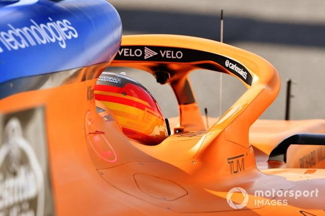 "Carlos Sainz Jr., McLaren MCL35 <span class=""copyright"">Mark Sutton / Motorsport Images</span>"