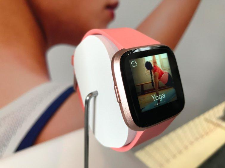 Fitbit's redesigned smartwatch dives deeper into health data with female-focused features.