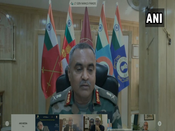 Lieutenant General Manoj Pande, Commander-in-chief, Andaman and Nicobar Command, addressed a webinar on Friday on 'Changing Dynamics of Indian Ocean Region'.