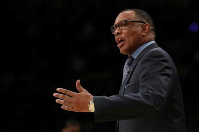 New Orleans Pelicans coach Alvin Gentry received an early setback for his team's resumption of the NBA season on Tuesday when a team executive said three Pelicans players have tested positive for COVID-19 (AFP Photo/Katelyn Mulcahy)
