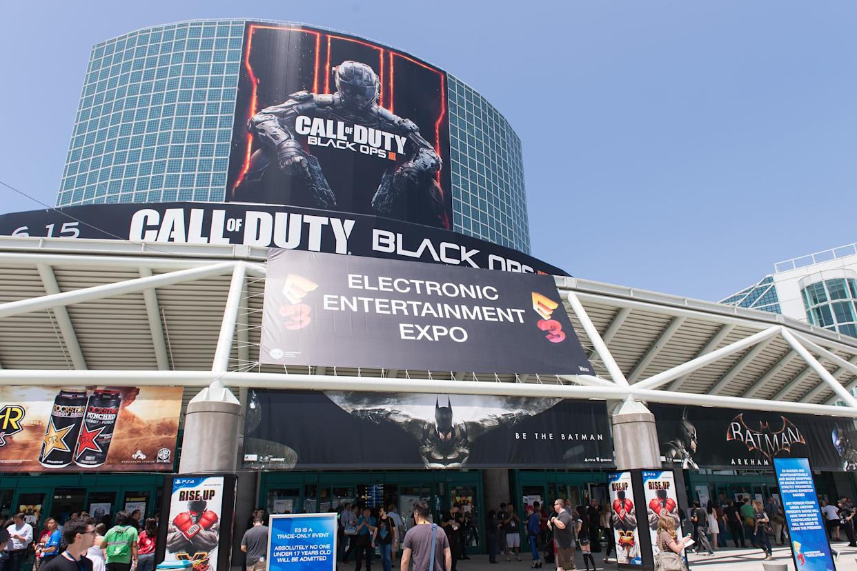 LOS ANGELES, CA - JUNE 16:  A general view of the E3 Electronic Entertainment Expo at Los Angeles Convention Center on June 16, 2015 in Los Angeles, California.  (Photo by Daniel Boczarski/WireImage)