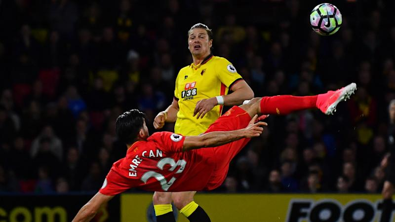 Emre Can goal: 'Special' strike praised by former Liverpool captain Gerrard
