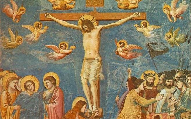 The Crucifixion by Giotto di Bondone - Giotto