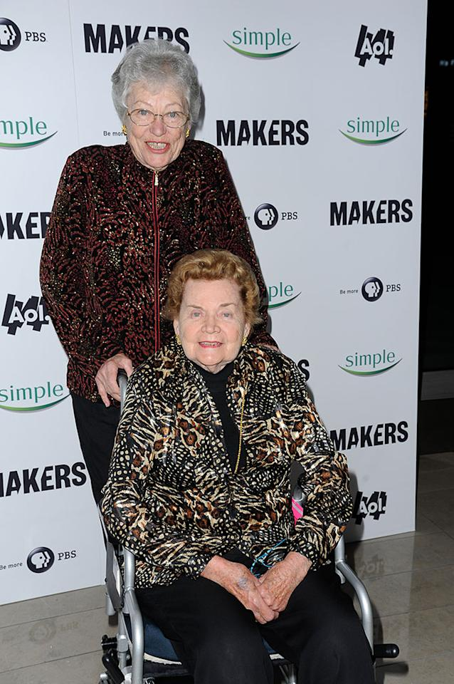 "Dusty Rose arrives at ""MAKERS: Women Who Make America"" New York Premiere at Alice Tully Hall on February 6, 2013 in New York City."