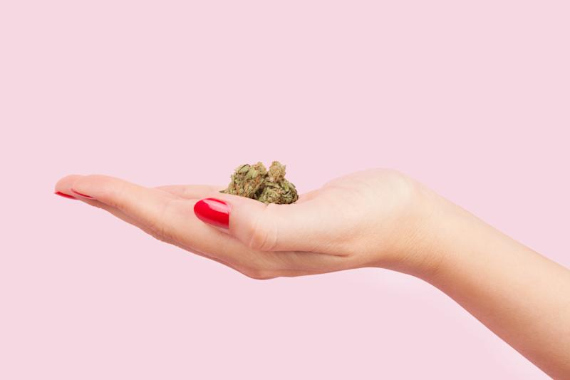 "Researchers from Saint Louis University found evidence that smoking marijuana before sex leads to an ""increase in satisfying orgasms"" among women. (Photo: Getty Images)"