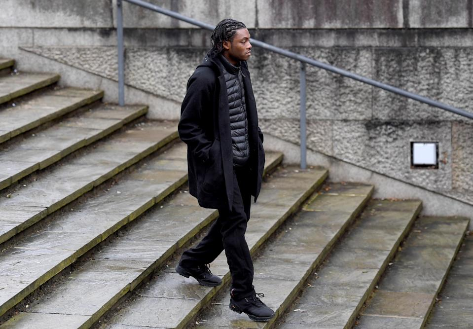 Ceon Broughton, pictured arriving at Winchester Crown Court before he was convicted, was found guilty of manslaughter and <span>supplying Miss Fletcher-Michie with 2-CP.</span> (Photo by Finnbarr Webster/Getty Images)