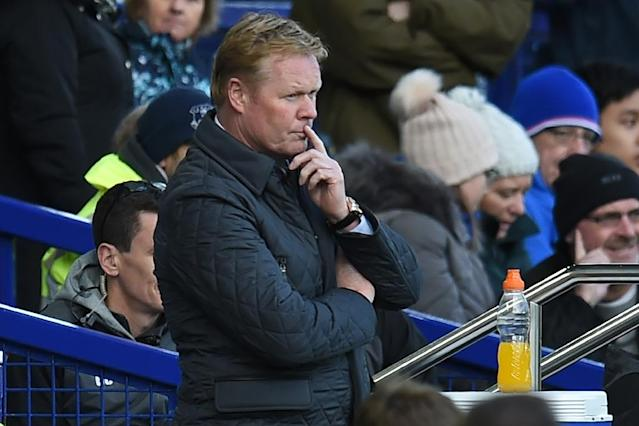Ronald Koeman is starting the job of restoring fallen giants the Netherlands to glory after they failed to qualify for the 2018 World Cup (AFP Photo/Oli SCARFF )