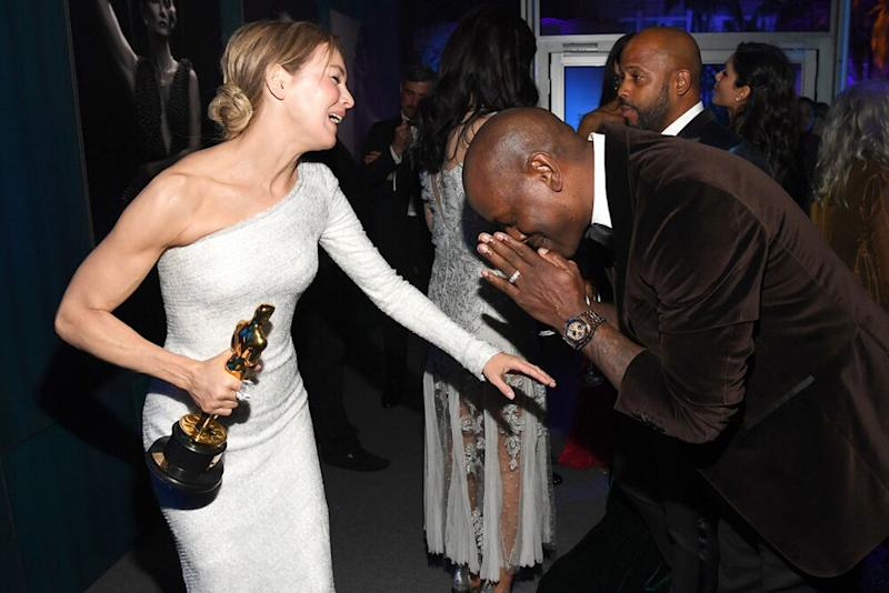 Renee Zellweger and Tyrese Gibson | Kevin Mazur/VF20/WireImage