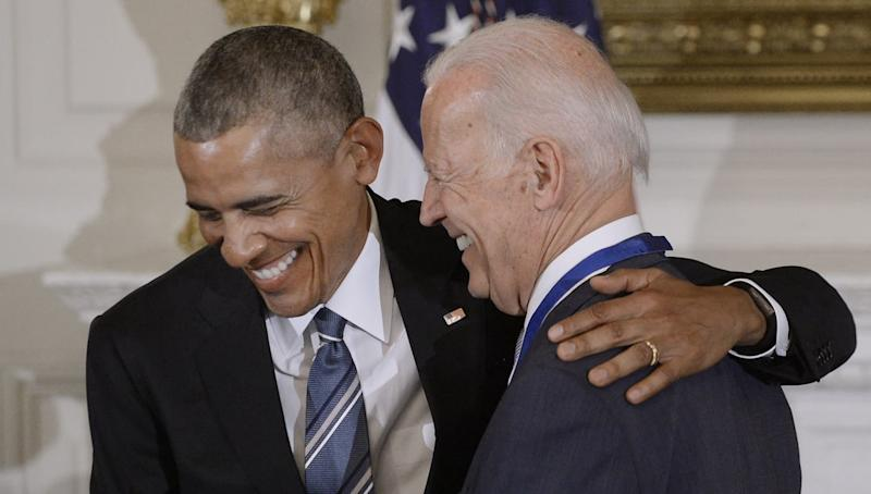 Barack Obama's Birthday Tweet to Joe Biden Is a Meme Come True