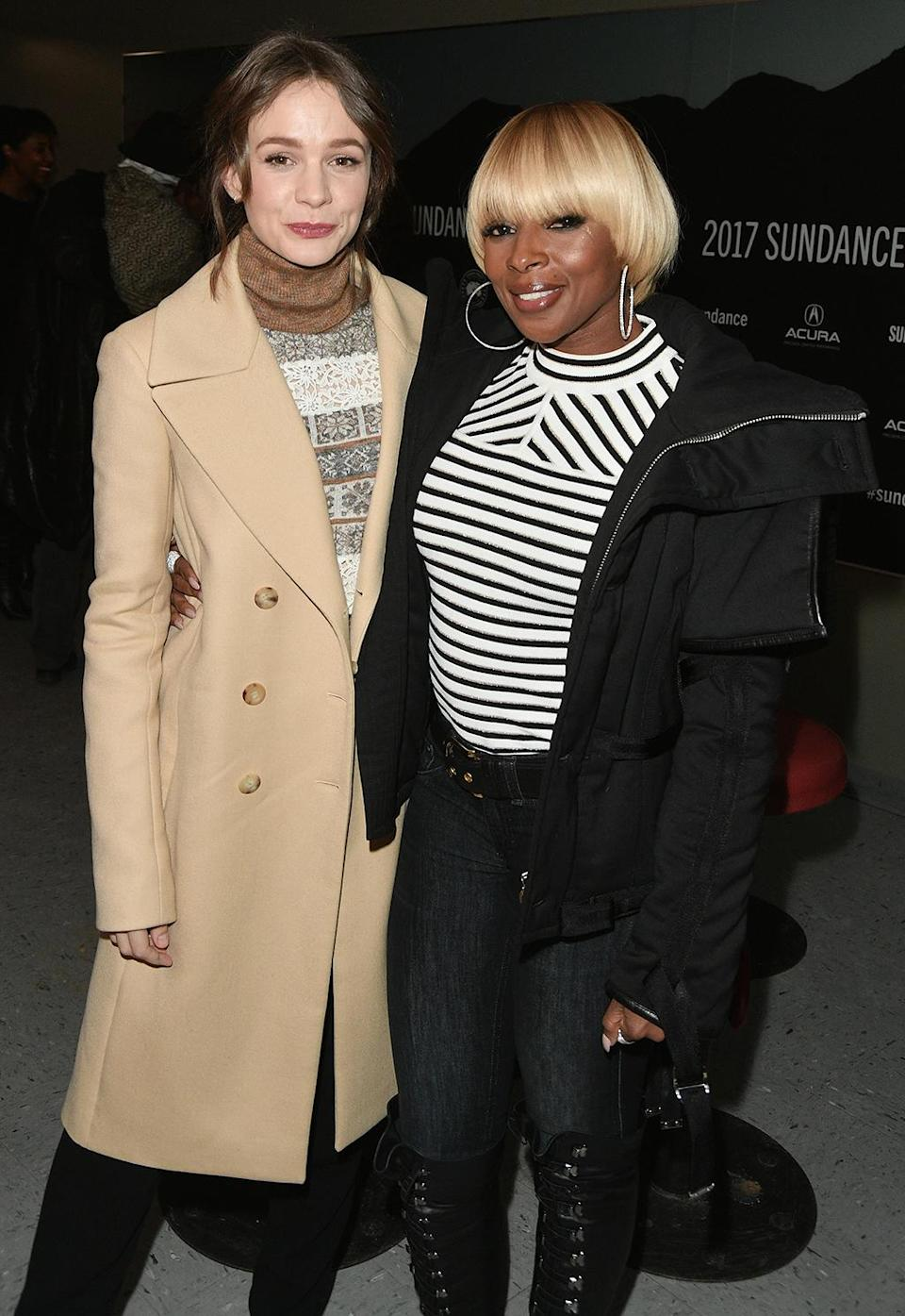 <p>The stars arrive for the debut of the buzzy 'Mudbound' on Jan. 21. (Photo: George Pimentel/Getty Images) </p>