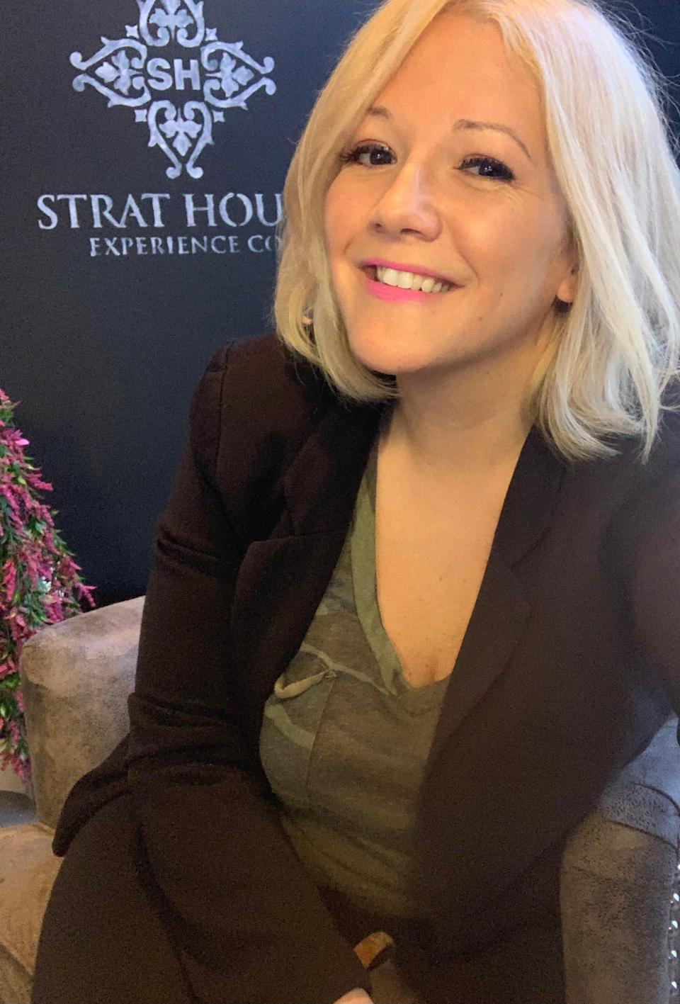 Erin Mills started her own company during the pandemic and decided to open an office in Montclair, New Jersey instead of working from home.