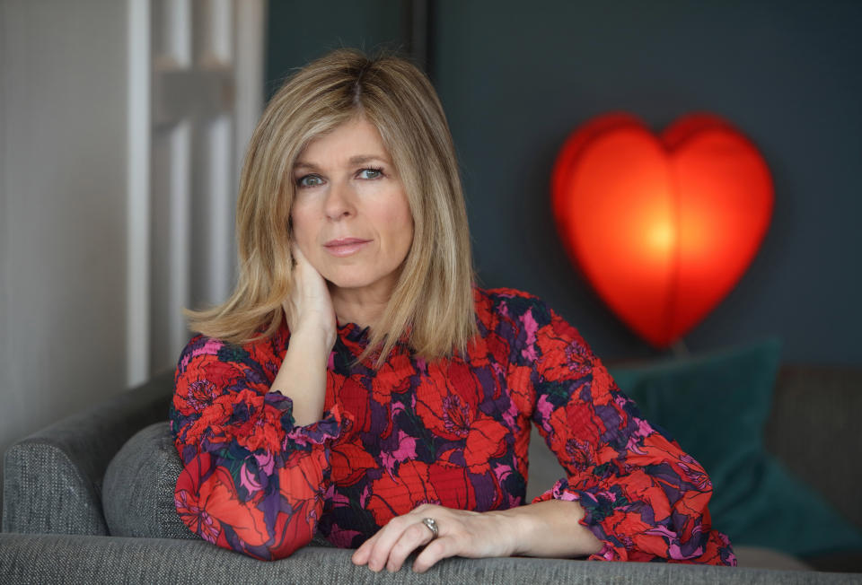 Kate Garraway allowed cameras to document her story for Finding Derek. (ITV/Tony Ward)