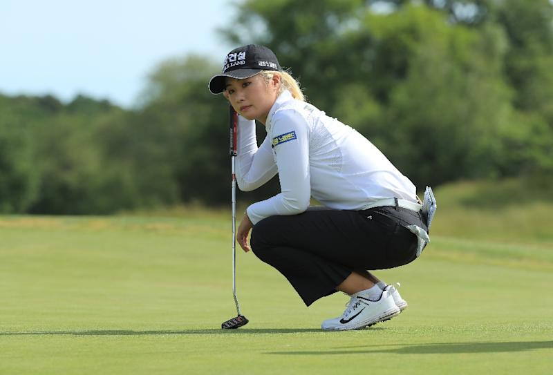Pornanong tied for lead at LPGA event