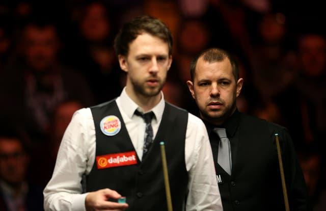 Barry Hawkins and Judd Trump teamed up in the latest World Team Cup