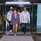 """<p><strong>Location:</strong> Cancun, Mexico</p> <p>Steve Harvey and his family jetted off to Cancun, Mexico, to celebrate his wife Marjorie's 55th birthday. Staying in <a href=""""https://www.moonpalacecancun.com/en"""" rel=""""nofollow noopener"""" target=""""_blank"""" data-ylk=""""slk:the resort's"""" class=""""link rapid-noclick-resp"""">the resort's</a> private golf villa, the Harveys relaxed poolside in a private cabana before dancing the night away at a Mexican-themed party for Marjorie, during which she was serenated by a mariachi band.</p> <p><em>Orange is the New Black'</em>s Selenis Leyva and <em>Mean Girls</em> star Jonathan Bennett have also checked in here.</p>"""