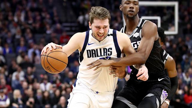 Dallas Mavericks star Luka Doncic made more history with his triple-double in the NBA.