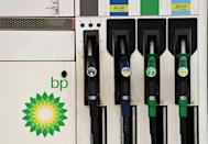The Times reported that at least 50 of BP's 1,200 service stations were out of at least one type of fuel, while the UK's transport secretary said five had closed (AFP/Glyn KIRK)