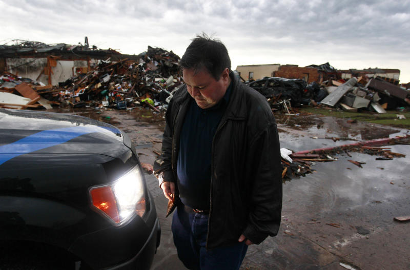 Mayor of Oklahoma town familiar with tornadoes