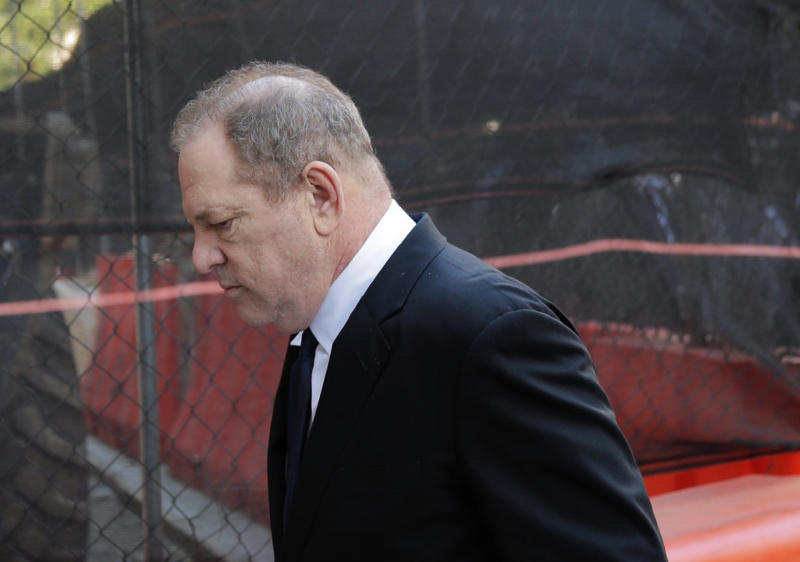 Weinstein could face life imprisonment if he is found guilty (AP)
