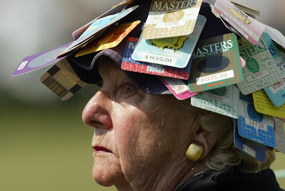 A badge for the Masters is one of the most prized tickets to obtain in all of sports. (Getty Images)
