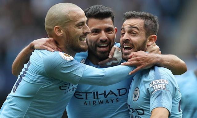 Sergio Agüero embraces defending to erase Pep Guardiola's doubts