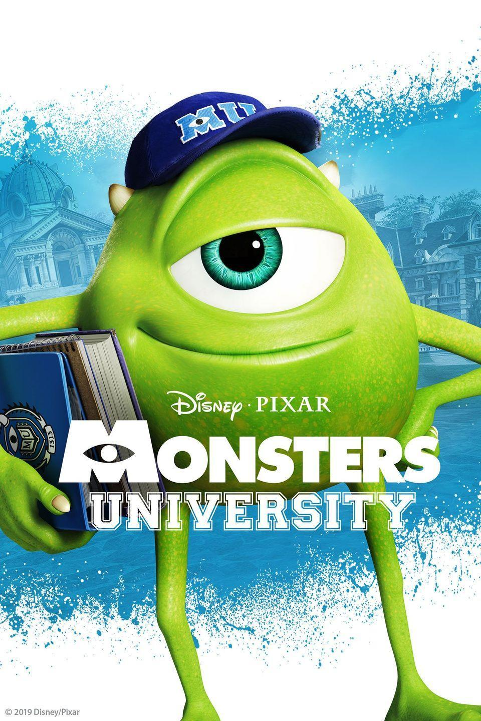 """<p>Mike Wazowski and James P. Sullivan """"Sulley"""" are back at it again, but we get to learn the how Mike and Sulley met at Monsters University. Mike have dreams of becoming a Scarer, but during his first semester at MU, his plans are derailed when he crosses paths with a natural-born hotshot, """"Sulley"""" and have to compete against each other in the elite Scare program. <br></p><p><a class=""""link rapid-noclick-resp"""" href=""""https://go.redirectingat.com?id=74968X1596630&url=https%3A%2F%2Fwww.disneyplus.com%2Fmovies%2Fmonsters-university%2F1jXFGfFl7WcX&sref=https%3A%2F%2Fwww.goodhousekeeping.com%2Flife%2Fentertainment%2Fg33651563%2Fdisney-halloween-movies%2F"""" rel=""""nofollow noopener"""" target=""""_blank"""" data-ylk=""""slk:WATCH NOW"""">WATCH NOW</a></p>"""