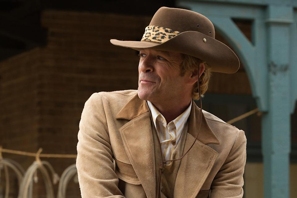 Luke Perry in Once Upon A Time... In Hollywood (Credit: Sony)