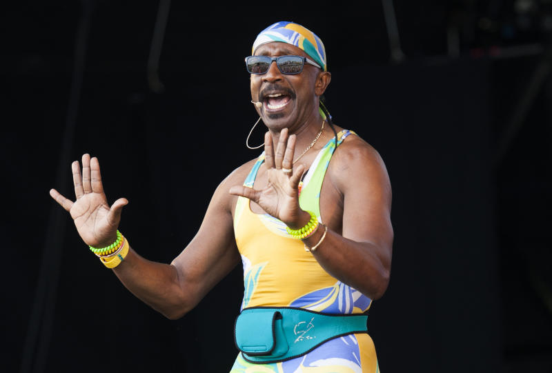 Embargoed to 0001 Monday May 04 File photo dated 23/5/2015 of Mr Motivator, who will join Linda Lusardi for a week-long workout to raise money for older people during the coronavirus pandemic.