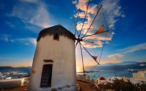 Mykonos makes for a wonderful family destination if you stay in one of the quieter resorts - Credit: Alamy