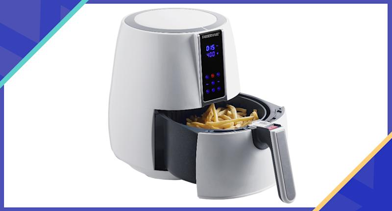 Now's the time to snag this air fryer you keep hearing about—it's more than half off (Photo: Walmart)