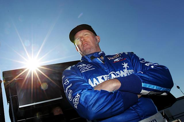 Paul Tracy has been an analyst for NBC's IndyCar coverage for five seasons. (Photo by Nick Laham/Getty Images)