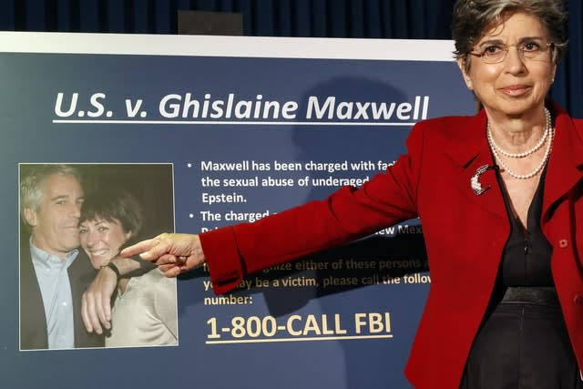 Ghislaine Maxwell `recruited, groomed and trained` underage girls as sex slaves