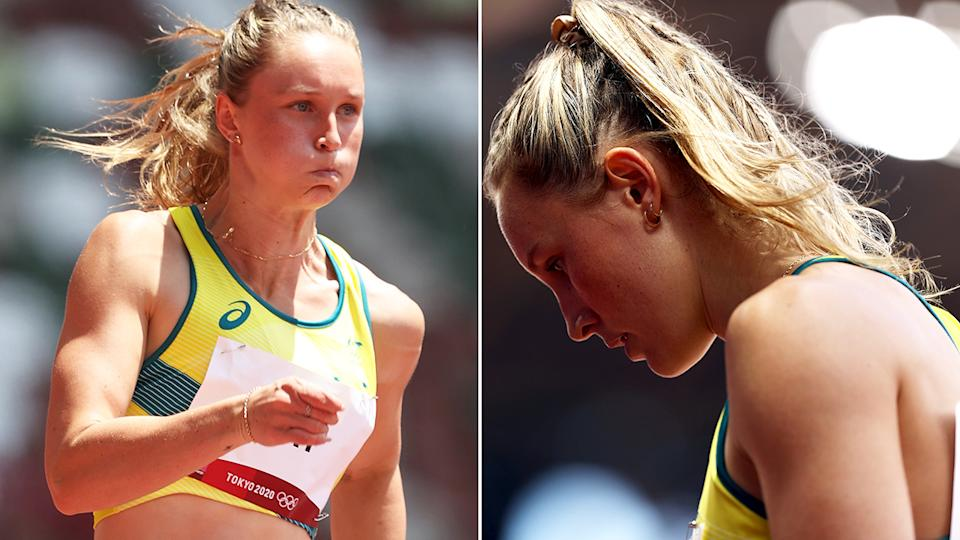 Australian sprinter Riley Day qualified for the semi-finals of the 200m at the Tokyo Olympics.