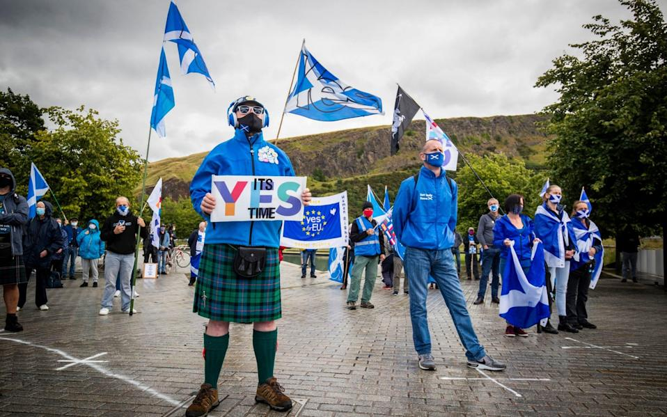 Support for Scottish independence has increased to 58 per cent, according to a new poll - PA