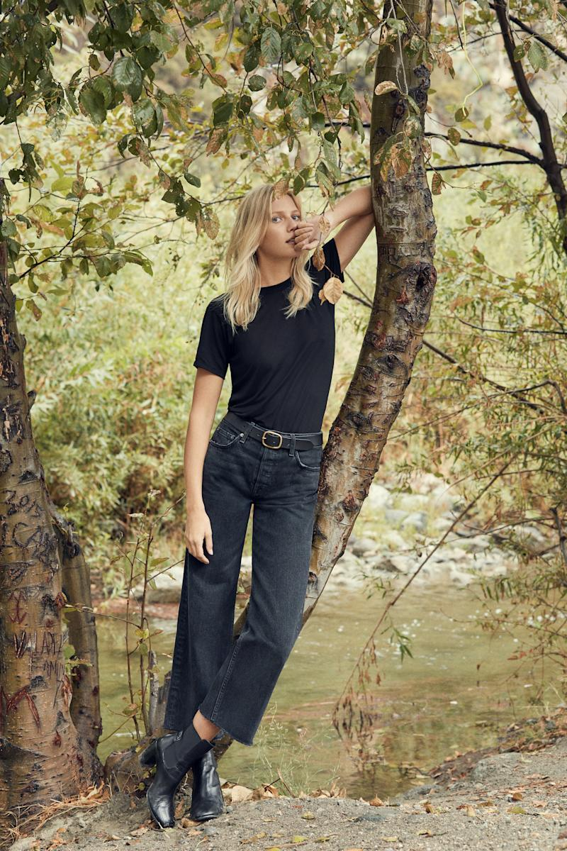 """Fawcett Jean in pacific, <a href=""""https://www.thereformation.com/refjeans"""" target=""""_blank"""">$128 at Reformation</a>. (Reformation)"""