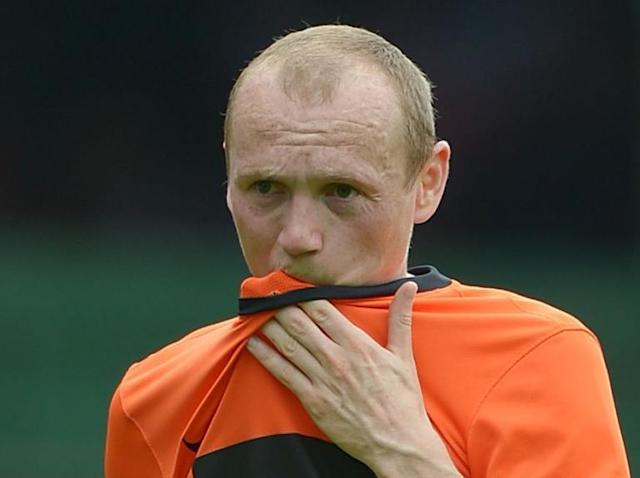 Dundee United midfielder Willo Flood goes into meltdown after Livingston red card — but manager forgives him