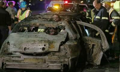 Bride Among Five Dead In California Limo Fire