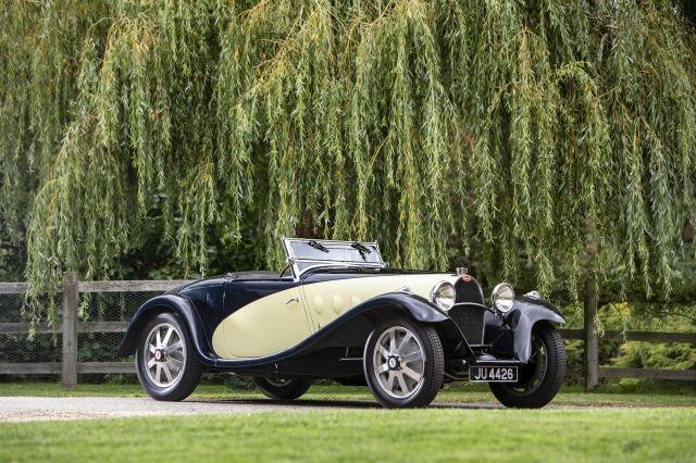 7 rare Bugattis headlining Bonhams sale at Paris's Grand Palais
