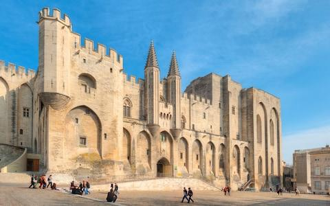 <span>The seat of the papacy for much of the 14th century, Avignon has been left with a history as unique as it is well-preserved</span> <span>Credit: HANS GEORG EIBEN </span>