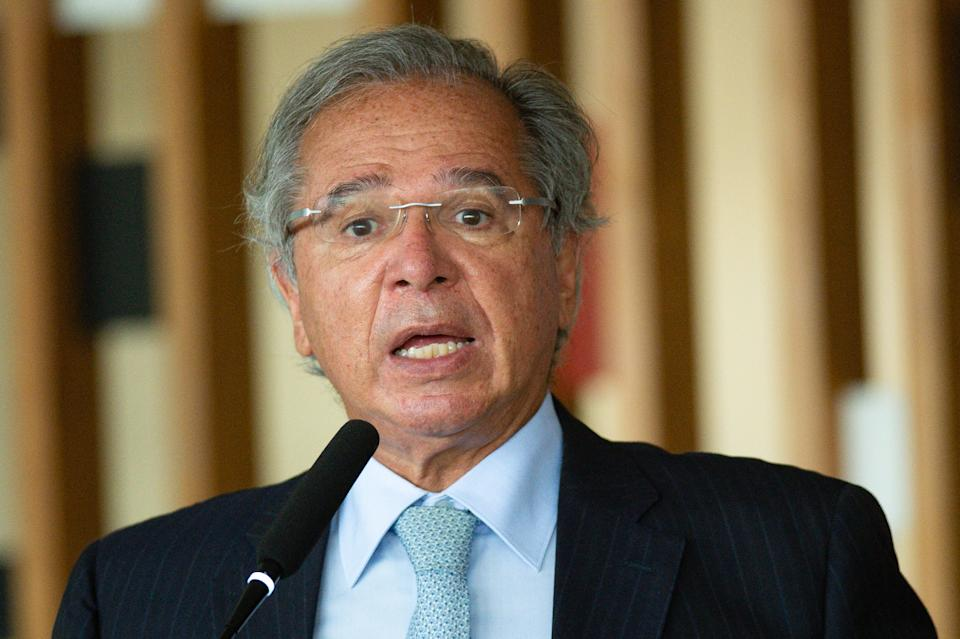 Paulo Guedes. (Foto: Andressa Anholete/Getty Images)