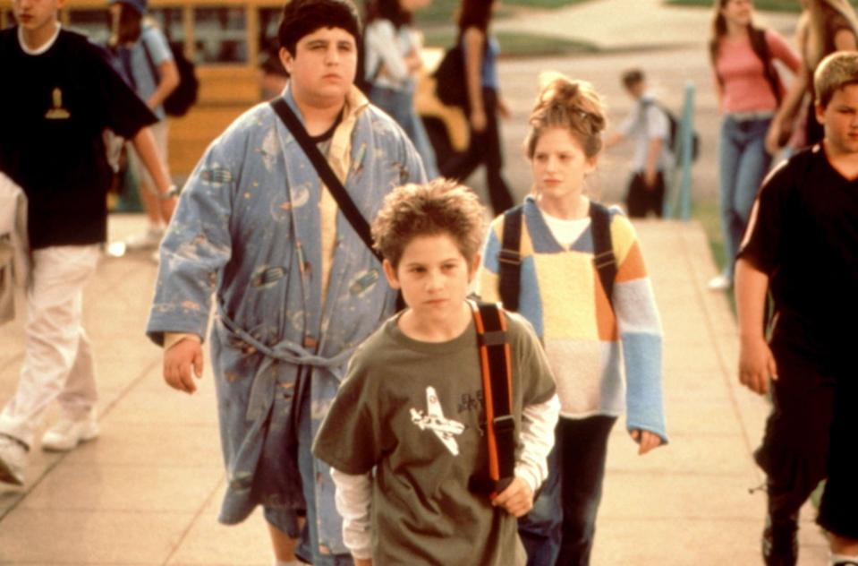 """<p><strong>HBO Max's Description:</strong> """"After learning that he's moving, a bullied seventh-grader pulls off a series of elaborate pranks to get revenge on his tormentors, only to learn that he's not moving after all!""""</p> <p><a href=""""https://play.hbomax.com/feature/urn:hbo:feature:GW88vGgAAlKGJwgEAAAI8"""" class=""""link rapid-noclick-resp"""" rel=""""nofollow noopener"""" target=""""_blank"""" data-ylk=""""slk:Watch Max Keeble's Big Move on HBO Max here!"""">Watch <strong>Max Keeble's Big Move</strong> on HBO Max here!</a></p>"""
