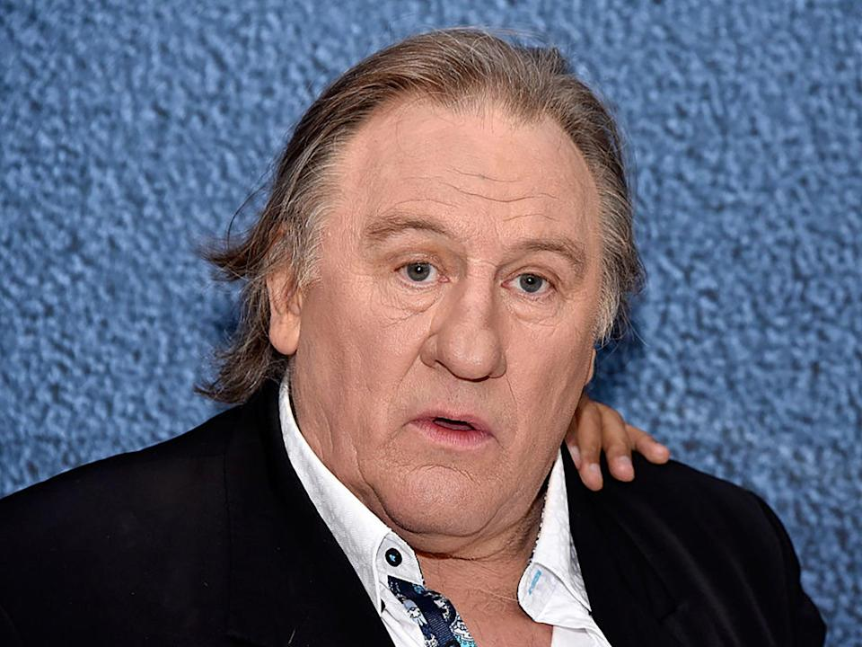 The French actor Gerard Depardieu (Clemens Bilan/Getty Images)