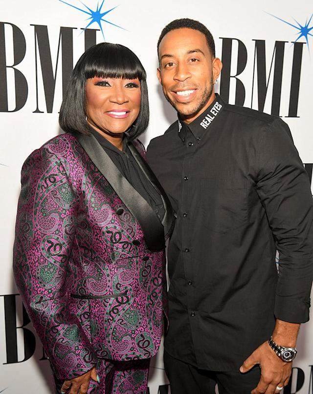 <p>Luda was part of the star-studded crowd as BMI honored LaBelle with the BMI Icon award at the 2017 BMI R&B/Hip-Hop Awards in Atlanta. (Photo: Paras Griffin/Getty Images for BMI) </p>
