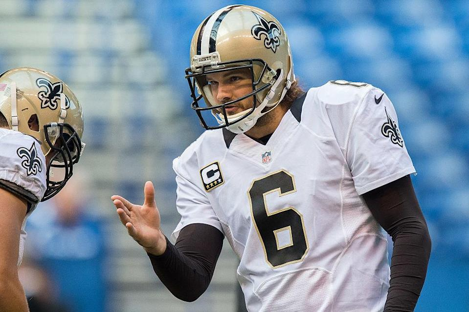 Thomas Morstead enters his 10th year as a member of the Saints. (Getty)
