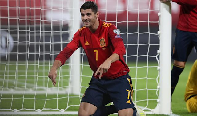 In form for Atletico Madrid, Alvaro Morata is eager to earn a place for Spain at Euro 2020.