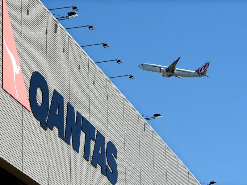 Virgin beats Qantas on domestic routes